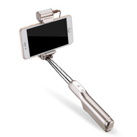 Wholesale 2016 hot sale selfie stick with LED for cell phones fashionable portable high quality degree adjustable selfie stick