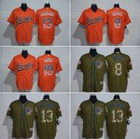 banner services - MLB Orioles jerseys baseball Jerseys Baltimore RIPKEN MACHADO DAVIS Salute To Service Cowboy Banner Wave freeshipping