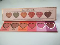 best matte blush - Best Quality Makeup Face Love Flush Blush Wardrobe Heart Shaped Palette Colors Blush from opec