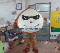 apricot kernels - Vivid Brown Almond Mygdlus Comnnis Amygdalus Comnnis Apricot Kernel Mascot Costume Cartoon Character Milk White Face ZZ1519 FS