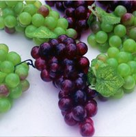 Idyllic Styles Home Decor Artificial Fruits Large Grapes String Decorative Craft Ornaments Wedding Christmas Shooting Props Supplies