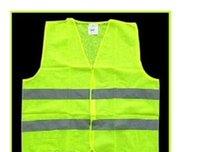 Wholesale High Visibility Working Safety Construction Vest Warning Reflective traffic working Vest Green Reflective Safety Clothing LJJC1792