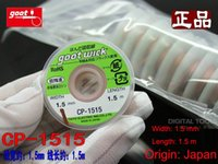 Wholesale Absolutely Original Japan GOOT Brand Repair Tools Suction Tin Wick Length M RoHS Solder Remover Wick For RMA