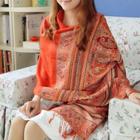 Wholesale Shanghai Story Scarf female spring and summer long shawl dual national wind oversized tourism Variety shawl