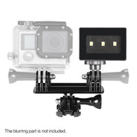 action photography cameras - Super Mini Portable Photography Shooting Video LED Light Lamp for Gopro Action Sports Camera D3766