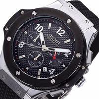 Cheap JEDIR Watch Men Chronograph Quartz Watch Mens Watches Top Brand Luxury Outdoor Sports Analog Rubber Wristwatch
