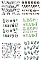 Wholesale China s national treasure panda wind watermark nail stickers nail art sticker nail sticker art nail sticker art