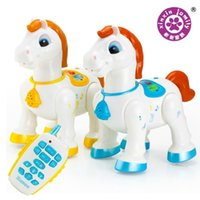 baby foal - Baby toys EACAN intelligent remote control electric remote control horse foal can sing and dance