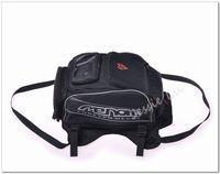 Wholesale Genuine MENAT Black Oil Fuel Tank Bag Magnetic Motorcycle Motorbike back seat bag can put the helmet saddle bag MB