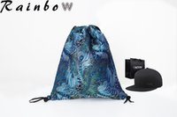 Wholesale 1pcs sample high quality drawstring bags fashion sport outdoor packs new design backpack for man and women