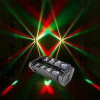 Wholesale Professional DMX512 RGBW in1 w LED Spider beam Bar moving head stage light dj club party effect light