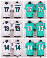 Wholesale New product football jerseys Dan Marino Jarvis Landry Ryan Tanneh white gree stitched can football jerseys embroidery Mix Order