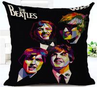 POP ART Вместе они Beatles Music Band Декоративный массажер подушки наволочки на обложке Модный домашний декор Vintage Gift