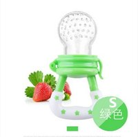 baby fruit feeder - Dummy feeding tool Funny silicone feeding bottles baby fruit meat fresh food feeder nipple mamaderas biberon baby