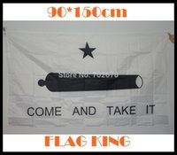 Wholesale Texas Gonzales Cannon Come and Take it Flag Banner