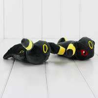 Wholesale Cute Anime Poke Umbreon Mouse Pad Plush Soft Stuffed Doll Toy Mouse Pad for girls gift styles