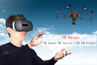 Wholesale VR Drone UAV Professional Helicopter RC quadcopter Drone S900 FPV K HD Video Camera GPS Oculus Rift DK1 DK2 CV1 VR Glasses D Glasses