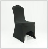 Wedding Chair Spandex / Polyester yellow best sale cheap wedding spandex chair cover 100 pieces per lots