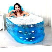 bath tub pump - 2016 New Foldable Durable Adult SPA Inflatable Bath Tub with Electric Air Pump