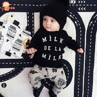 best baby fashion clothing - New Fashion Baby Boy Clothing Spring Autumn Baby Girl Clothing Set Long Sleeve Baby Boy Clothes Best Baby Gift
