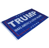 Wholesale Donald Trump x5 Foot Flag Make America Great Again Donald for President USA cm