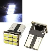 Wholesale 2 x T10 W5W SMD Car White LED Light DC V License Plate Lamp HA10681