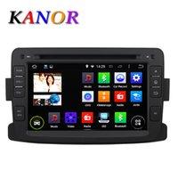 autoradio renault - Quad Core ROM G Android Car DVD GPS For Renault Duster Logan Sandero inch Car Autoradio Multimedia