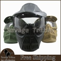 airsoft war tactics - Safe and comfortable breathable full face protection nylon lenses transformers Airsoft Game BB gun war game tactics mask