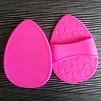Wholesale OEM Design silicone rubber Beauty makeup pad silicone pad Hair removal pads