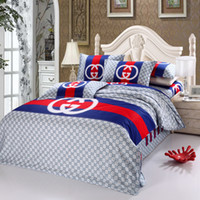 Cheap high quality cotton Printing 4 pcs Cotton Bedding Set bed Sheet Quilt Covers Duvet Covers PillowCase Bed Linen bedclothes
