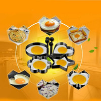best fried eggs - Best Deal New PC set Thick Stainless Steel Omelette Mold Control Egg Frying Mold Love Flower Round Star Molds