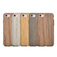 apple wood for sale - hot sale cell phone case accessories soft flexible nature real wood TPU hybrid case for iphone