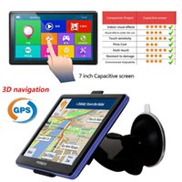Wholesale XGODY inch Capacitive Screen Car Truck GPS Navigation M GB Bluetooth AV IN FM Navigator Europe Navitel Russia Maps