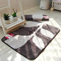 bathing floor rug - Tranquil Leaves Bath Mat Modern Floor Mat For Bathroom And Toilet Microfiber Carpet Rug Bathing Tapete Banheiro Bath Mat