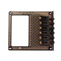 Wholesale Square Saddle Bridge Chrome for Tele Humbucker Replacement