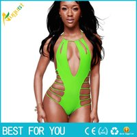 Wholesale 2016 Women Bikinis Vintage Bohemian Ladies Push Up Bikini Set Summer Style Bathing Suit Halter Printed Swimwear