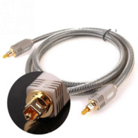 Wholesale Digital Optical Line Audio Cable Fiber Optic Cable Od8 Enthusiast M mm Fiber Cable for Speaker Amplifier CD DVD