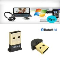 Wholesale Ultra Mini Bluetooth CSR USB Dongle Adapter Dual Mode Dongle Wireless USB Wifi Adapter for Windows Win Vista XP