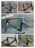 cadre velo carbone - On promotion Carbon Road Frame Cipollini NK1K Carbon Bike Frame T1000 Carbon Frame cadre velo carbone telaio carbonio