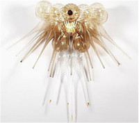 bedroom room furniture - LR249 Energy Saving AC110V V Modern Murano Glass Ceiling Chandelier Blown Glass Pendants for Chandelier Livingroom Decorative Furniture