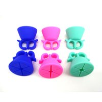 assorted nail polish - Wearable Nail Polish Holder Nail Polish Stand Ring For Women Girls Assorted Colors