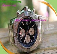 automatic baton - Equipped Original Box Brand BB Super Avenger II A13371 Black Dial Face Baton PRO III Bracelet Mens Men s Watch Watches