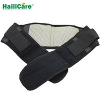 Wholesale Adjustable Self heating Magnetic Therapy Waist Support Belt Tourmaline Lumbar Back brace Sport Belts