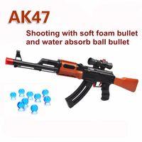 Wholesale Soft Bullet Paintball Water Bullet Pistol Gun Toy Orbeez Water Gun Crystal Bullet Airgun Boy Gift For Children