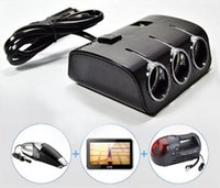 24v dc to 24v dc adapter - 3 Way Cigarette lighter Socket Splitter V DC Power Car Adapter USB Port