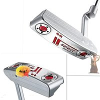putter - 2016 fashion right handed hot brand silver golf clubs putter Limited sales golf putter with headcover some logos no show