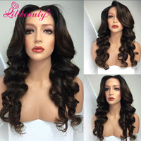Wholesale 8A Grade Density Virgin Brazilian Human Hair wigs Full Lace Wig Custom hairline human hair glueless lace front wig