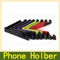 adjustable tablet stand - Universal Foldable Mobile Cell Phone Stand Holder for Smartphone Tablet Samsung Adjustable Support Phone Holder