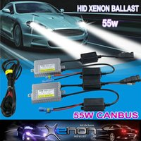 ac kit cars - 55W AC Car CANBUS Ballast Car Xenon HID KIT Hernia High Quality Headlight Bulb H4 V China Supply