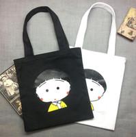 art shopping bags - 2016 Fashion Purses Handbags Handbags Women Bags Sweet Comic Printed Small Fresh Art Environmental Protection Shopping Bags
